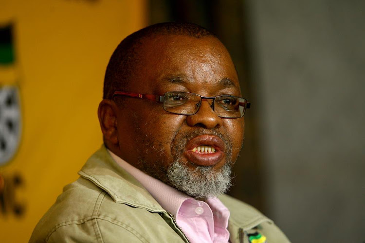 Gwede Mantashe, Secretary General of the ANC. File photo.