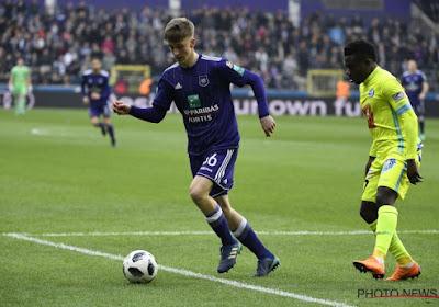 Alexis Saelemaekers élu homme du match face à Charleroi
