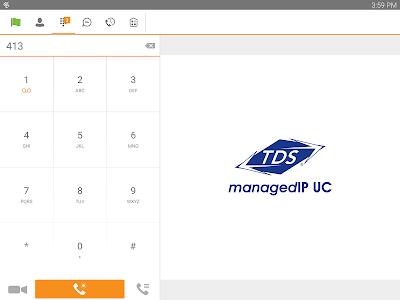 TDS managedIP Hosted Tablet UC screenshot 5