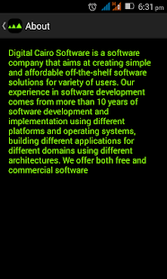 Digital Cairo Software- screenshot thumbnail