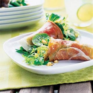 Prosciutto Lettuce Wraps.