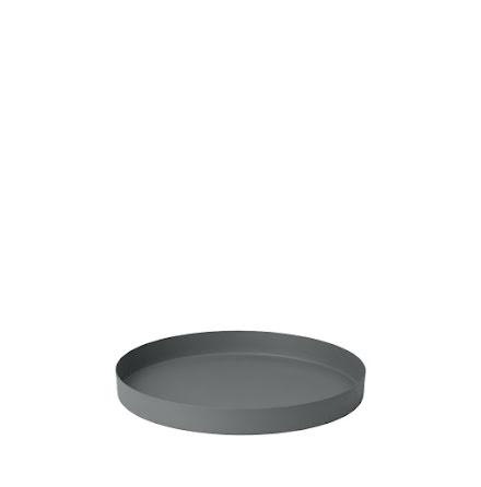 REO Bricka, Ø 25,5 cm, Small, Pewter