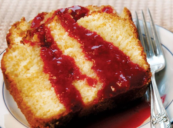 Lemon Pound Cake With Raspberry Sauce Recipe