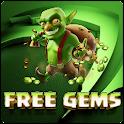 ✔ COC GEMS : FREE TRICKS & TIP icon