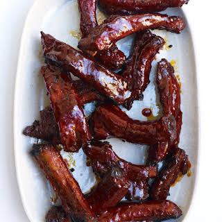 Spicy Glazed Pork Ribs.