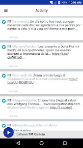 Latinos FM Galicia screenshot 1