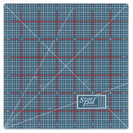 Scor-Pal Reversible Scor-Mat Mini 7X7 - Inch