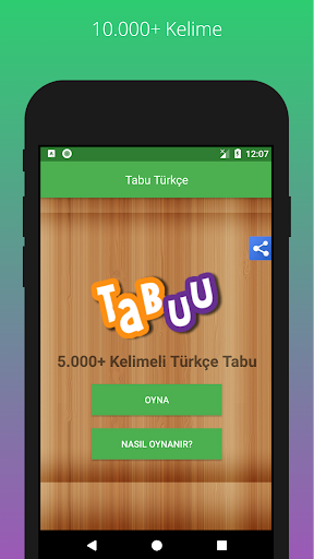 Tabu - 10.000 Kelime 1.2 screenshots 1