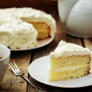Best French Vanilla Cake.