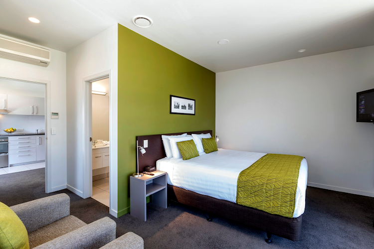 Bedroom at Quest Rotorua Central
