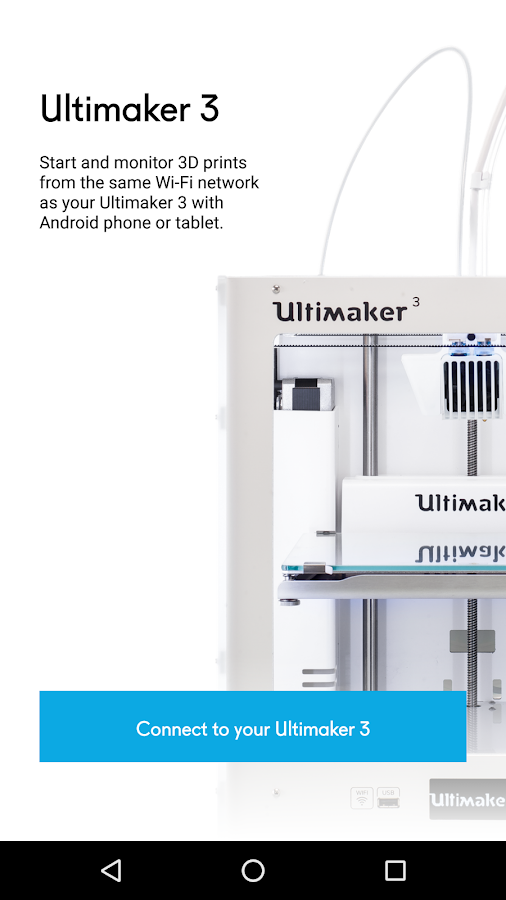 Ultimaker 3- screenshot