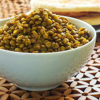Curry Braised Lentils Recipe