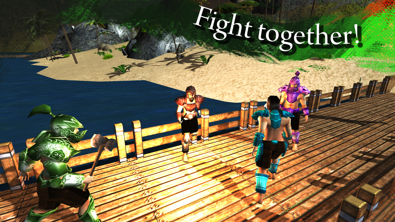 Survival Island Online MMO- screenshot