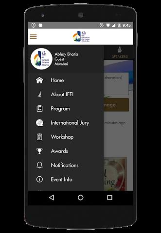 android IFFI GOA Screenshot 2