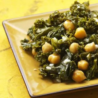 Indian-Spiced Kale & Chickpeas.