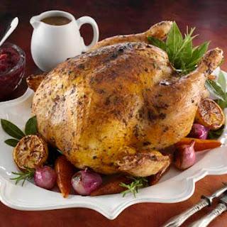 Brined Turkey with Fine Herb Butter