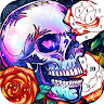 com.pixel.art.coloring.color.number.paint.skull