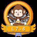 Yoga Monkey Free Fitness L7-6 icon