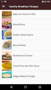 Healthy Breakfast Recipes screenshot 1