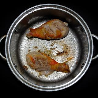 BROKEN CHICKEN RICE PORRIDGE! (CONGEE) Recipe