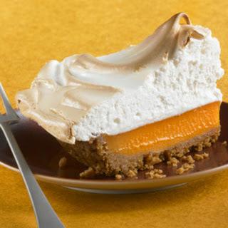 Mile–High Pumpkin Pie