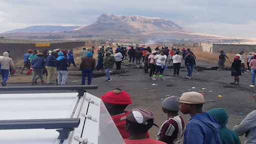 Harrismith protesters vow to continue until Ramaphosa intervenes