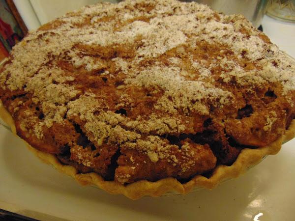 Pumpkin & Apple Shoofly Pie Recipe
