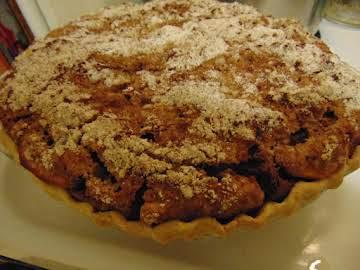 Pumpkin & Apple Shoofly Pie