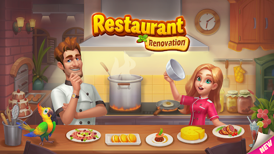 Restaurant Renovation MOD APK [Unlimited Stars] 1.10.4 8