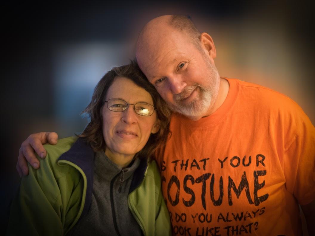 Angelika and John Weber