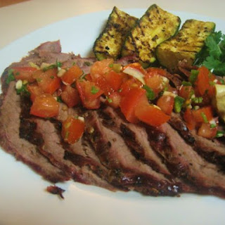 Flank Steak and Salsa