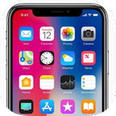 3D Phone X i Launcher & Control Center OS 12