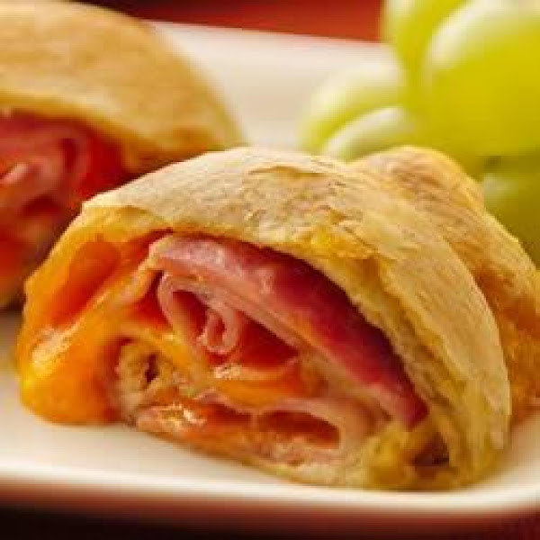 Ham & Cheese Rolls Recipe