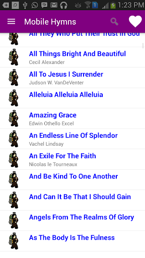 Mobile Hymns