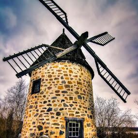 Windmill 2 by Joe Hamel - Digital Art Places