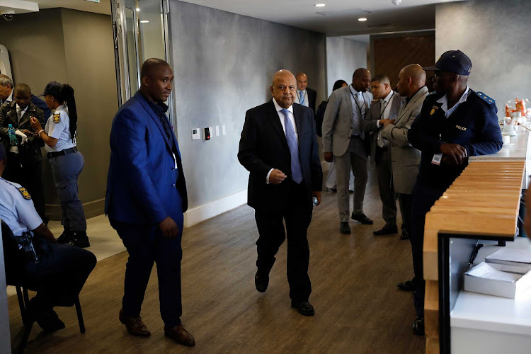 Public Enterprises minsiter Pravin Gordhan