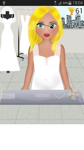 妊娠の結婚式のゲーム