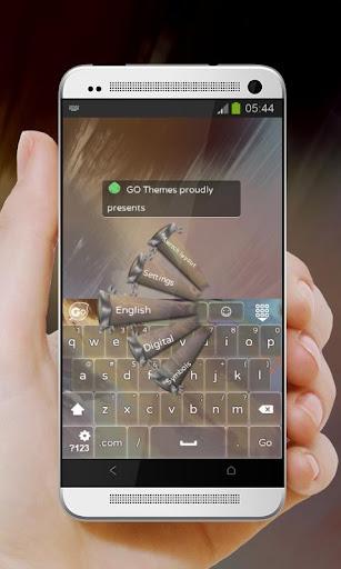 玩免費個人化APP|下載冰之謎 GO Keyboard app不用錢|硬是要APP