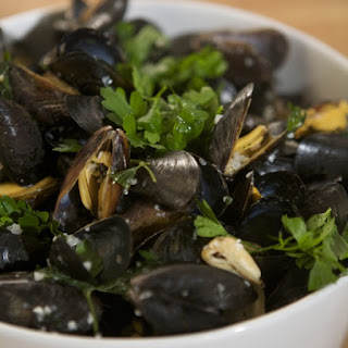 Classic Moules Marinieres with Pommes Frites Recipe
