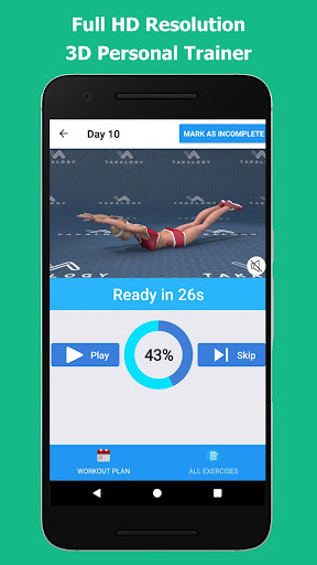 Lose Belly Fat in 30 Days - Flat Stomach 1.0.1 screenshots 9