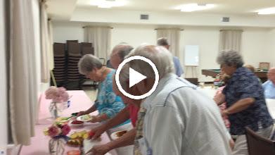 Video: After dinner dessert activity...