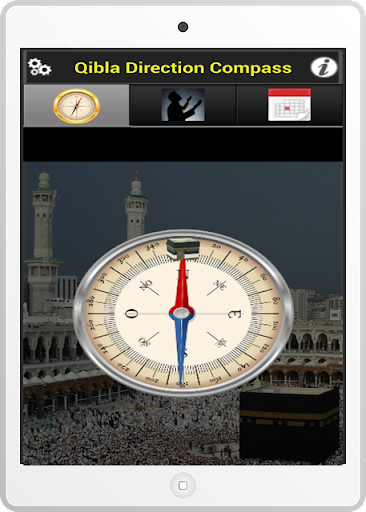 qibla direction mobile application