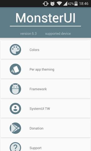 MonsterUI - Theme your device 6.1 screenshots 1