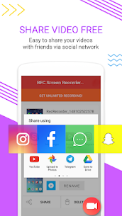 Screen Recorder with Audio and Facecam, Screenshot App Download For Android 4