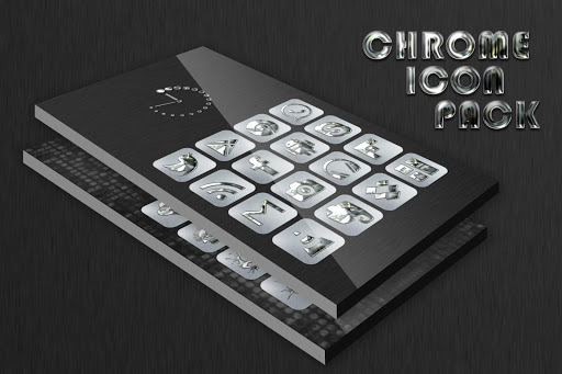 Silver Chrome Icon Pack