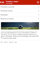 Kicktipp screenshot 2