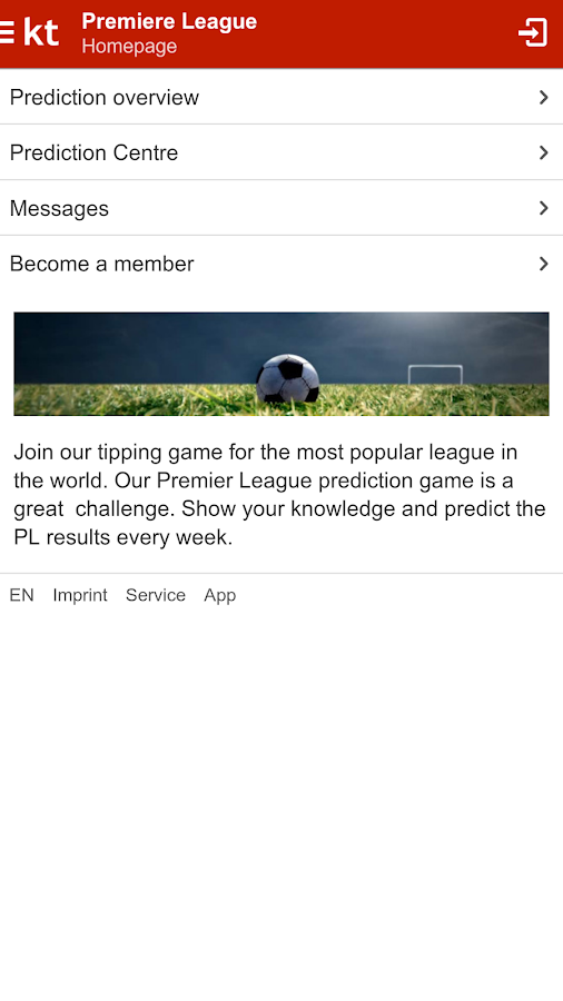 Kicktipp - Sports prediction game with friends- screenshot