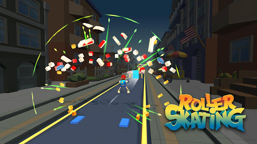 Roller Skating 3D screenshot 16