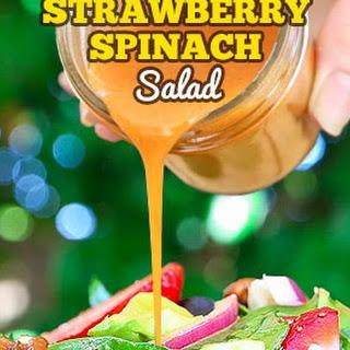 Best Ever Strawberry Spinach Salad.