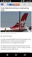 Screenshot of 3 News